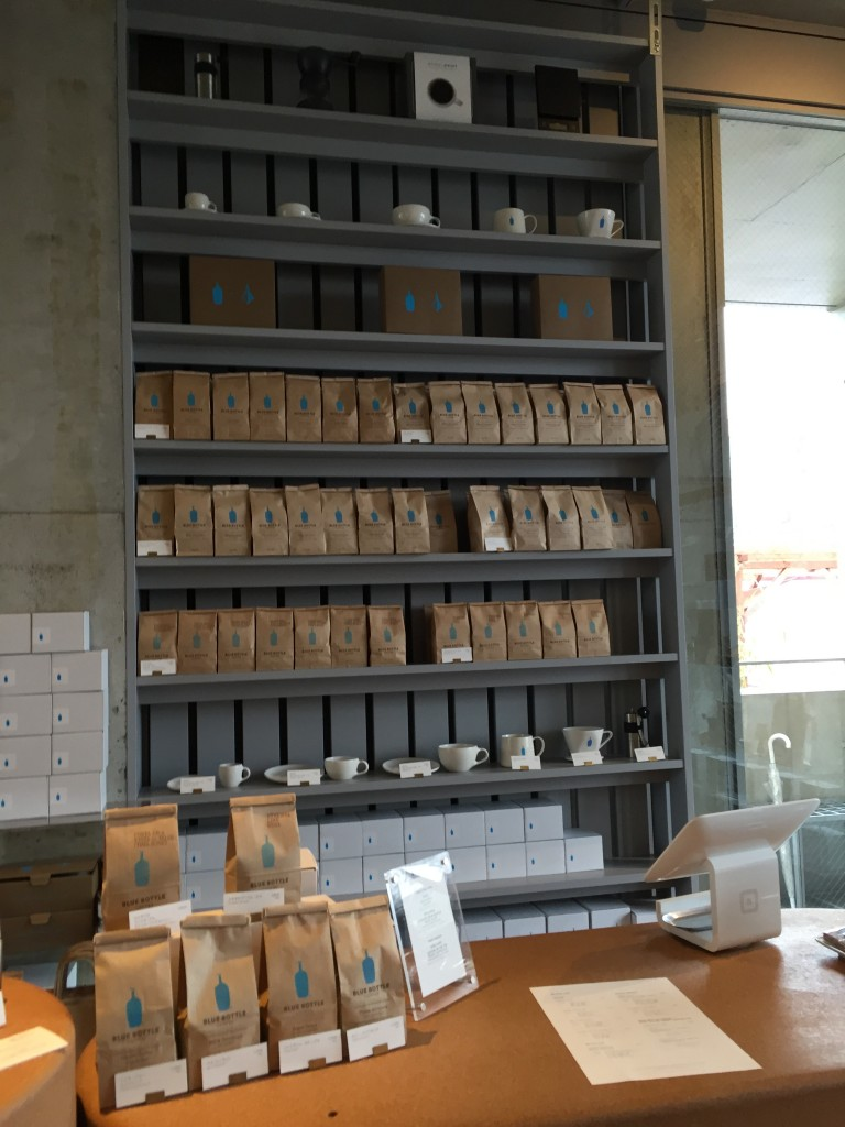 Blue bottle青山店